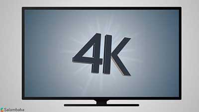 شکل1-تلويزيون 4K