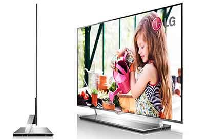 شکل2-تلویزیون OLED اولد و ضخامت