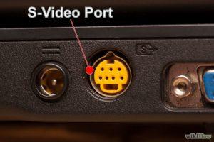 پورت Separated Video (یا S-Video)