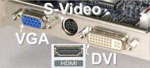 پورت VGA و DVI