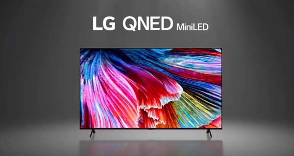 شکل- تلویزیون های QNED ال جی