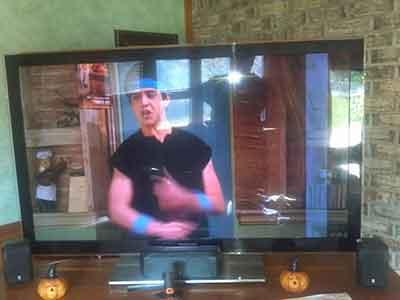 آبخوردگی صفحه تلویزیون - تعمیر پنل آبخورده تلویزیون ها